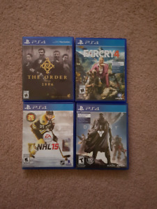 PS4 Games - Together or Individually