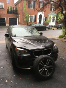BMW X1 brand new winter tires on rims, great opportunity