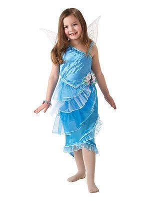 Silvermist Costume (Child Licensed Disney Silvermist Tinkerbell Fancy Dress Costume Kids Girls)