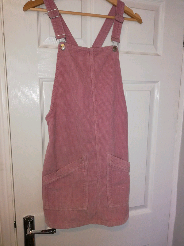 quality first huge discount fantastic savings Topshop pinafore dress, powder pink, size 8 | in New Brighton, Merseyside |  Gumtree