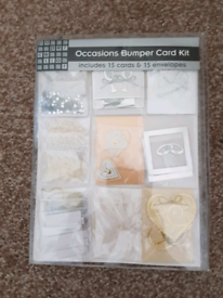 WEDDING/ANNIVERSARY/ENGAGEMENT CARD MAKING KIT - NEW