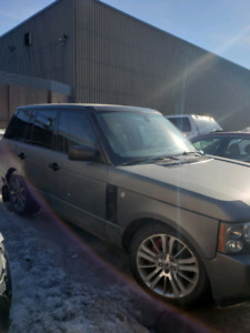 RANGE ROVER SPORT 2007 FOR PARTS ONLY PART OUT