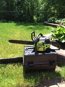 Poulan chainsaw. Gas operated.