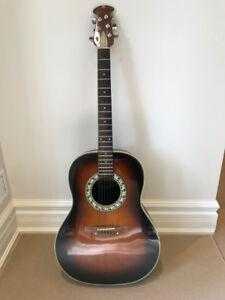 1973 Ovation Balladeer 1111-1 (acoustic guitar)