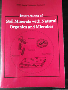 Interactions of Soil Minerals with Natural Organics and Microbes