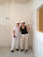 Sisters for Hire!!!   Interior/Exterior work