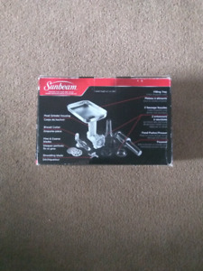 SUNBEAM MIXMASTER PLANETARY STAND MIXER MEAT GRINDER ACCESSORY