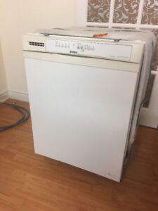 """Kenmore white 24"""" under the counter dishwasher DIGITAL PAD"""