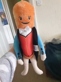 Mr Carrot Plushie