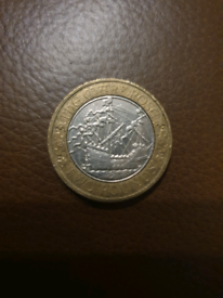 Mary Rose £2 coin