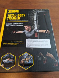 TKO suspension body weight resistance  workout system