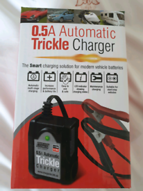 Automatic battery trickle charger new