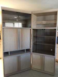Large wall unit for sale purchased from Ethan Allen | Hutches ...