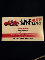 A to Z auto detailing