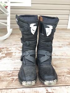 Thor Blitz Youth Motocross Boots - Size 7