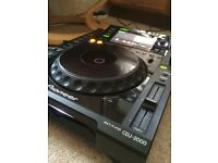 Cdj 2000 (pair) djm 900 srt package or split