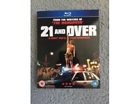 21 and over blu-Ray BRAND NEW!!!!!