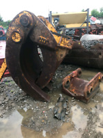 NYE Demolition grapple and quick attatchment for excavator