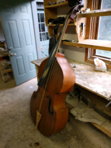 Double Bass... Used/ Abused