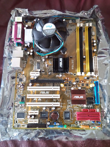 Asus 775 motherboard with Intel D cpu 3.2