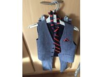 Boys Next Trousers and Waistcoat