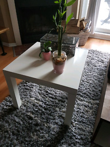 WHITE IKEA TABLE