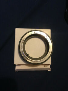 Adapter Ring for Canon FD Lens to Nikon F Mount