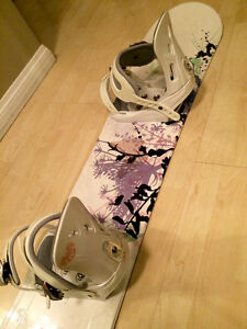 Women's Snowboard and Bindings- $150! Edmonton Edmonton Area image 1