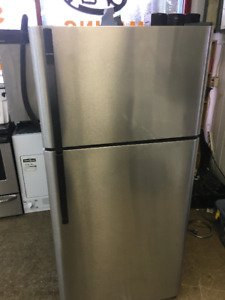 STAINLESS STEEL FRIDGE ENERGY STAR FULL SIZE 30 INCH