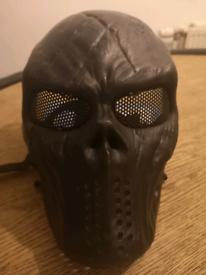 Green brigade face mask