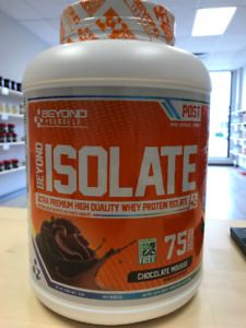 Beyond Yourself Whey Protein Isolate 5lbs. Reg. $94.99
