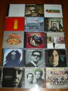 Classic Song Writers/Easy Listening CDs (26)