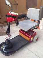 Mobility Scooter - Red Sunrunner