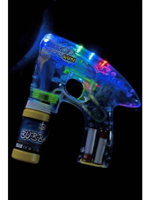 Hell Up Bubble Blowing Pistole Kostüm Zubehör Kinderspielzeug Blinkend mit 1 X