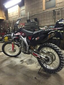 2006 crf450r with papers