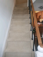 LOOKING FOR: someone who knows how to do flooring on stairs