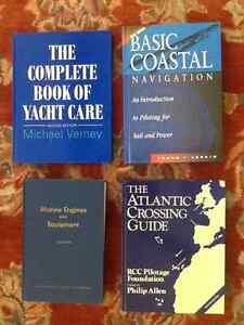 YACHTING/BOATING BOOKS