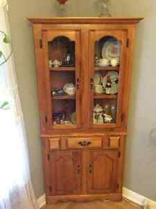 Antique Corner Hutch - 25 years old