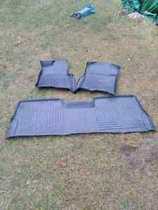 Set of Husky Floor liners for 09_14 F150 Crew Cab