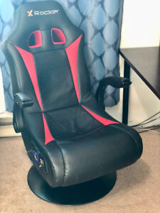 X-Rocker Deluxe Gaming Chair with Bluetooth for Xbox, PC PS4