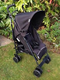 Hauck stroller pushchair & raincover. Suitable from birth. Good clean cond'