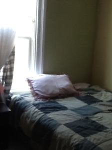 Furnished room in downtown duplex Oct. 1st $400