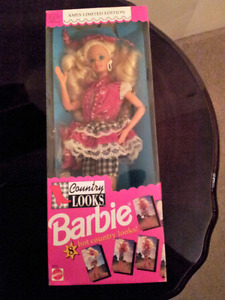 Barbie Doll, 1992, Ames Limited edition Country Lool
