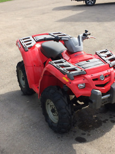CALLING ALL HANDYMEN !! 2004 CA-AM OUTLANDER H.O.4X4 QUAD