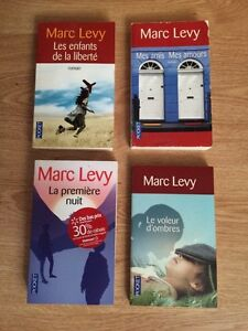 Livres Musso, Levy....