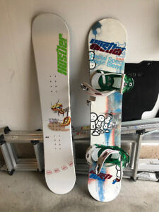 Snowboarding - All you need! 2 Boards - Bindings - Boots - Bag