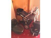 Quinny Buzz 3 wheeler Pram pushchair