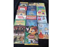 16 children's DVDs