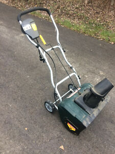 "20"" YARD WORKS ELECTRIC SNOW BLOWER"