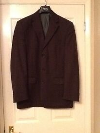 Mens Pin Striped Suit